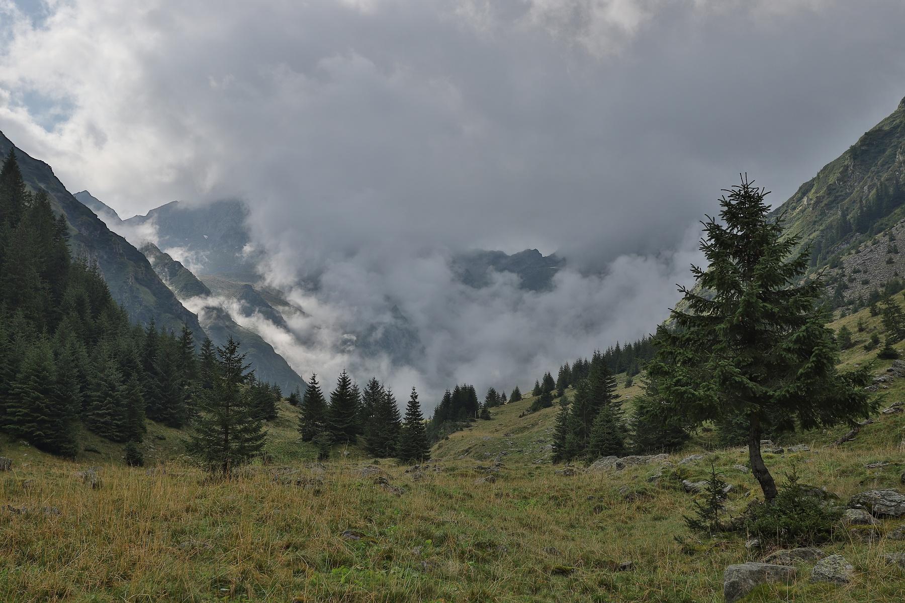 Valea Vistei, Munții Făgăraș, Romania Canon EOS 6D mark II, Canon 17-40 mm f4 L USM, 40mm, f6.3, 1_1250, ISO 250, HDR, 17. august 2019