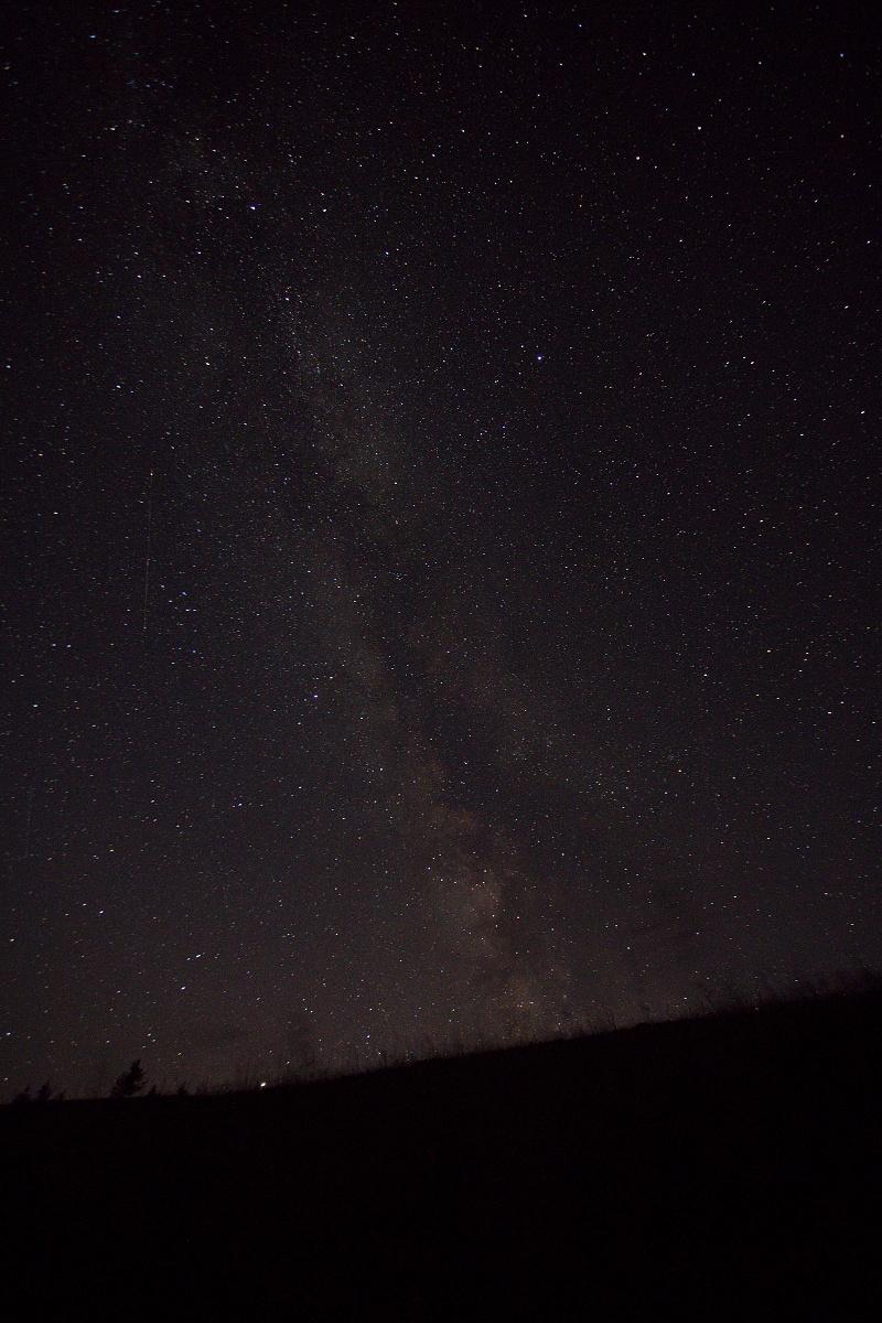 mliečna dráha (Milky way), Veľká Fatra, Slovensko